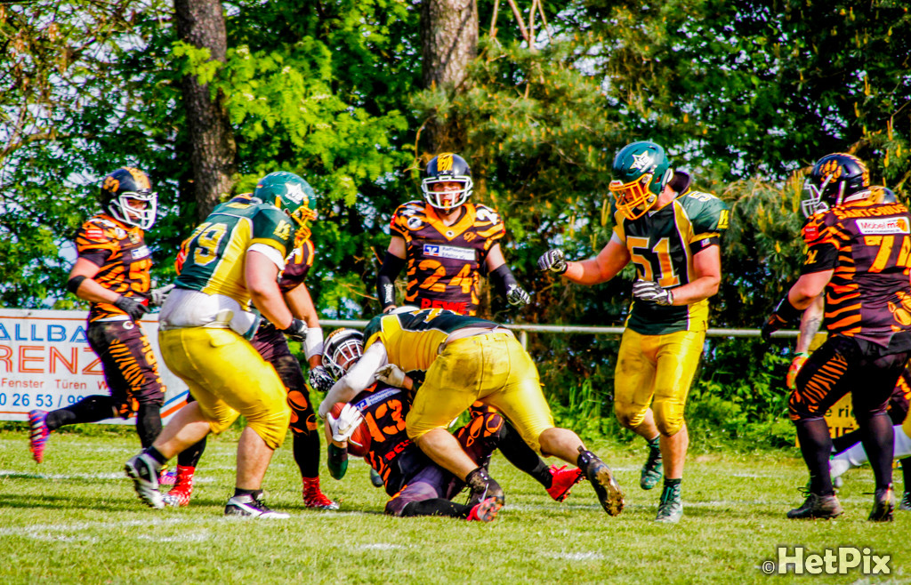 Spielbericht: Treis Karden Mosel Valley Tigers vs. Nauheim Wild Boys