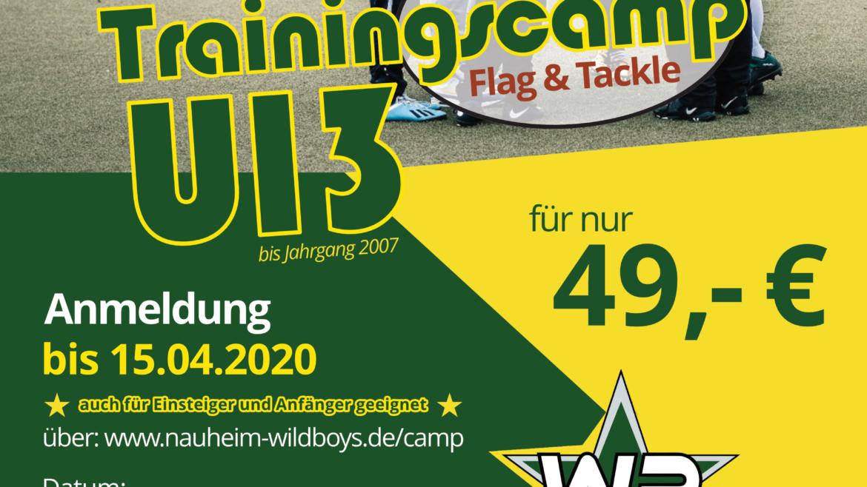 2. vereinsunabhängiges American-Football-Camp der U13