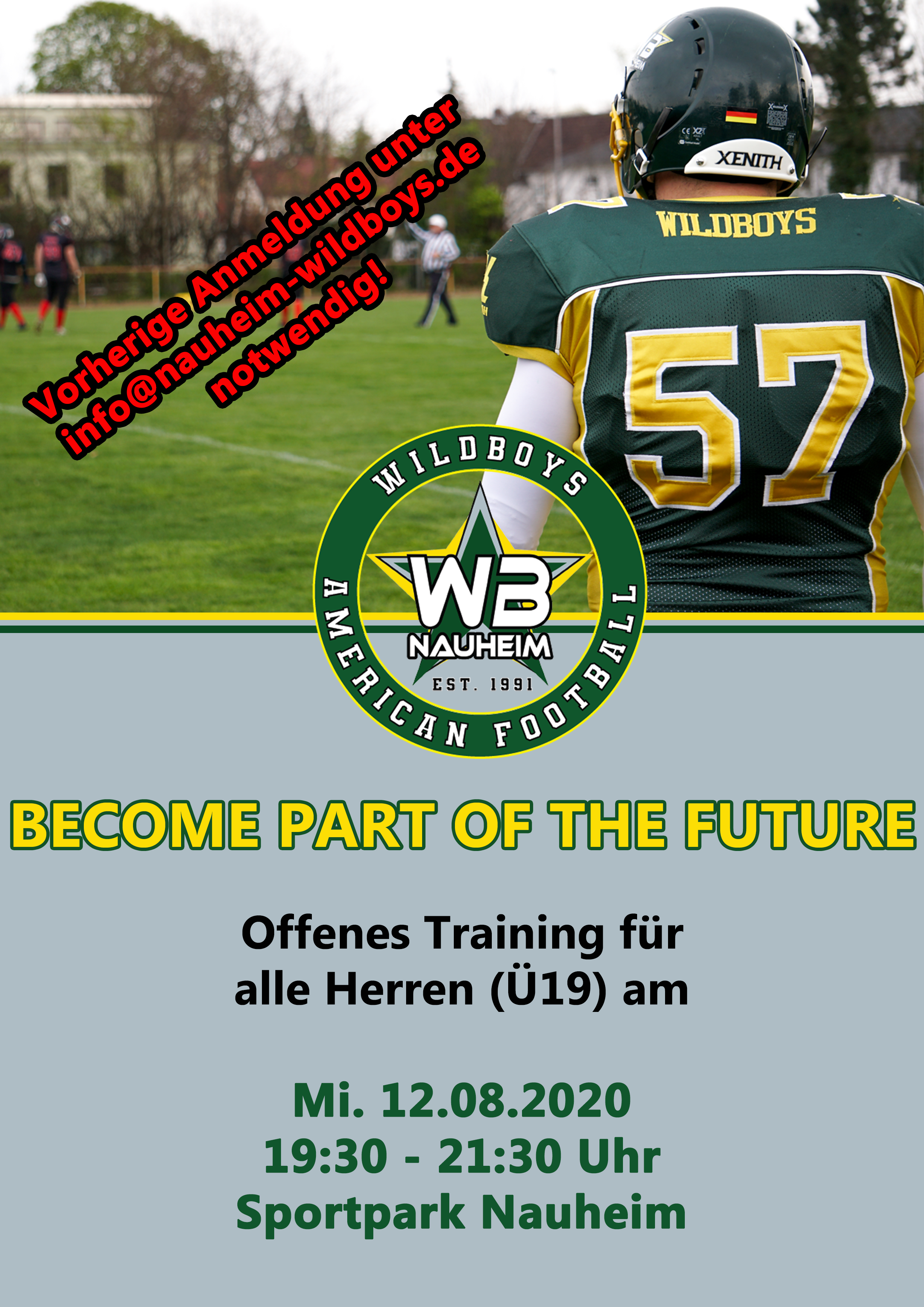 Become part of the future